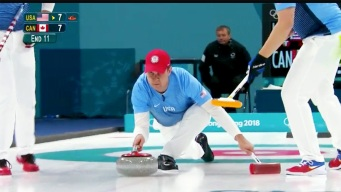 Extra, Extra Slow: Watch US Curler's Game-Winning Throw in Slow Motion