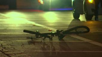 Cyclist Hit by Car in Aventura