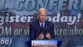 Biden Defends Past Work on Civil Rights After Harris Attack
