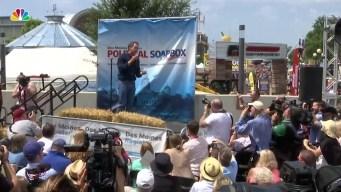 Democratic Candidates Flock to Iowa State Fair