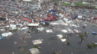 Aerial Video Shows Complete Destruction in Bahamas