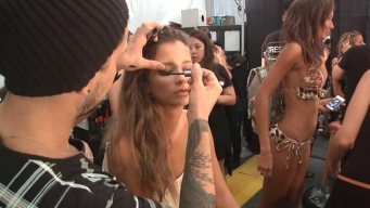 Makeup Artist Talks Trends at Swim WeeK