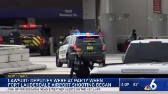 Deputies Were at Party When FLL Shooting Began: Lawsuit