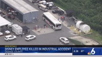 Disney Worker Killed in Industrial Accident