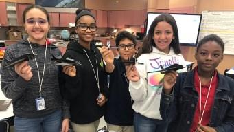 Broward School Gives Girls Early Start in STEM