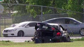 Driver in Stolen BMW Crash Remains in Jail