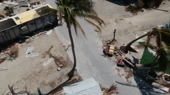 Drone Video: RVs Tossed Like Toys in Keys