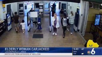 Elderly Woman Carjacked in Lauderdale Lakes