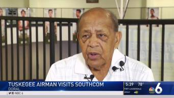 Famed Tuskegee Airman Visits SouthCom