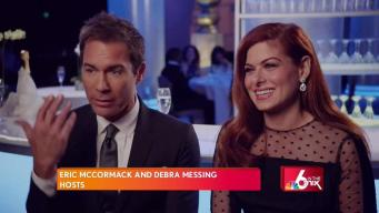 First Look: Will and Grace Stars Talk Globes Special