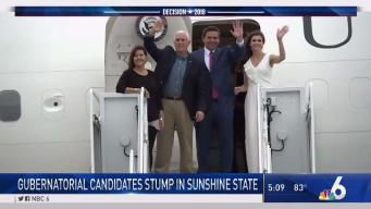Florida Candidates on Campaign Trail Ahead of Election