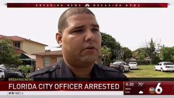 Florida City Officer Arrested for Official Misconduct