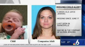Florida Missing Child Alert Issued for 3-Week-Old Baby