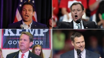 For Gov. Hopefuls Boosted by Trump in Primary, General Looms