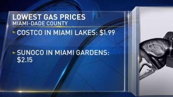 Gas Prices Rise Slightly in South Florida