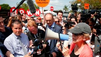 2020 Dems Visit Homestead Detention Facility Ahead of Miami Debates