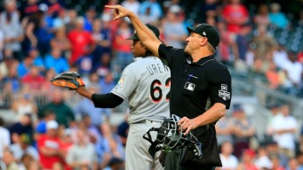 Marlins' Urena Suspended for Six Games