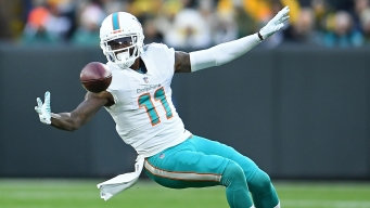 WR DeVante Parker Gets Another Chance With Dolphins