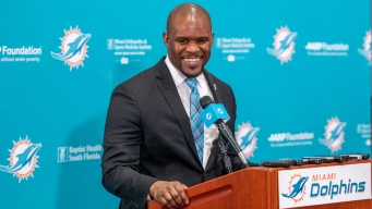 Coach Flores Says Dolphins Are Heading in Right Direction