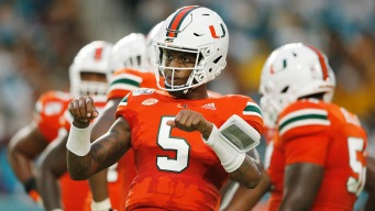 N'Kosi Perry Back in Starting QB Role for Miami Hurricanes