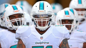 Dolphins' Pouncey Selected to Pro Bowl