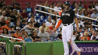 Marlins Finally Score in Win Over Phillies