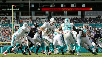 Dolphins Top Ravens to Halt Skid