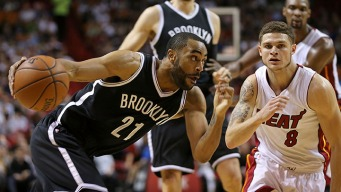 Heat Let Big Lead Slip Away in Loss to Nets