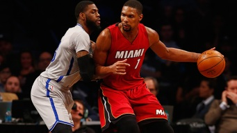 Heat Hold Off Nets For Win in Brooklyn