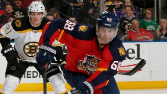 Panthers' Jagr Makes History in Loss