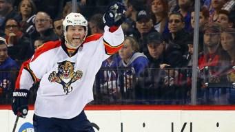 Panthers Re-Sign Jaromir Jagr for 2016-17 Season