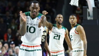 Hurricanes Hang On to Advance to Sweet 16