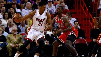 Heat Top Bulls to Keep Pace in East