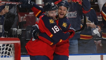 Smith Stays Hot to Help Panthers Even Up Series