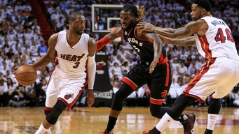 Heat Fall in Game Three, Trail Series 2-1