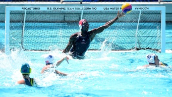 Hometown Hero Leads Way for USA Water Polo