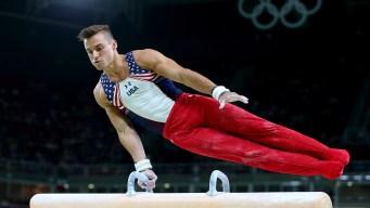 Americans Solid 2nd in Men's Gymnastics Preliminaries