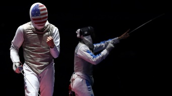 U.S. Men's Fencing Team Takes Bronze in Foil