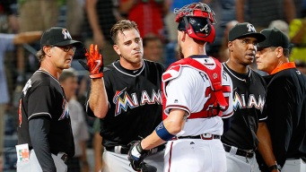 Marlins Fight Back From Three Run Deficit to Beat Braves