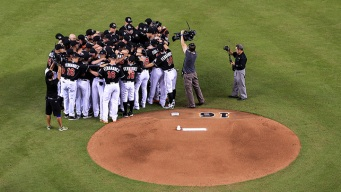 Marlins Return to Action With Emotional Win