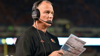 Miami Hurricanes' Mark Richt Named ACC Coach of The Year