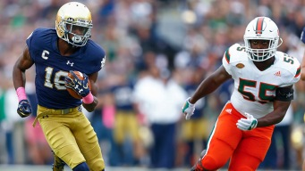 Hurricanes Fall to Fighting Irish for Fourth Straight Loss