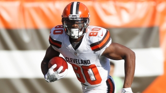 WR Ricardo Louis Agrees to 1-Year Contract With Dolphins