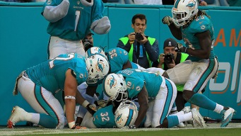 Dolphins Clinch Playoff Spot for First Time Since 2008