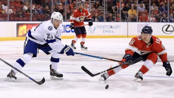 Late Goals Lift Panthers Over Lightning