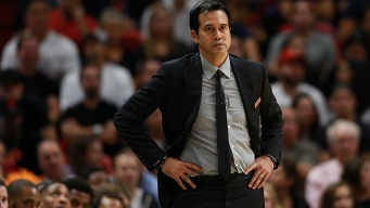 Heat's Spoelstra Comes Up Short for Coach of the Year Award