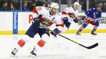 Panthers Skate Past Rangers in Shootout