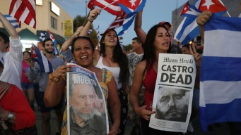South Florida Reacts To Castro's Death