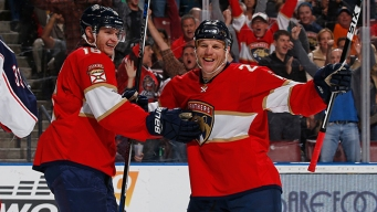 Barkov and Huberdeau Lead Panthers to Win in Return