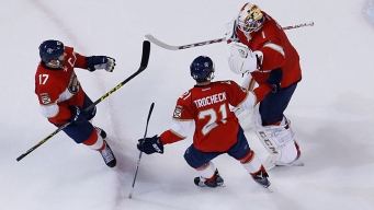 Panthers Beat Canucks to End Slide